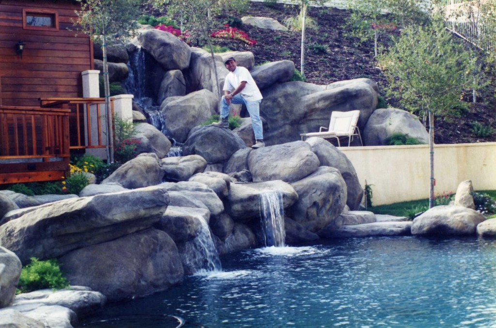 Pond builder garcia rock and water design blog for Artificial pond water