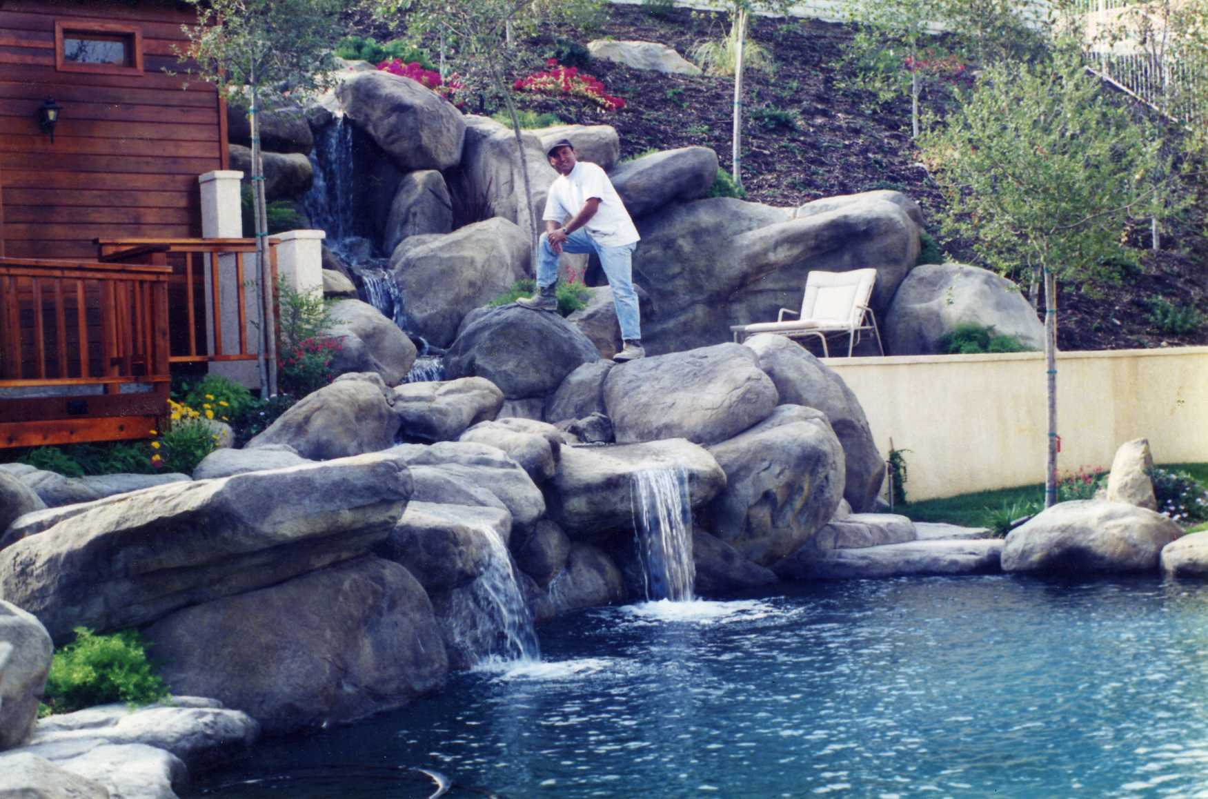 Garcia rock and water design blog for Artificial water pond