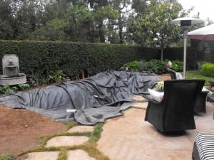 Garcia rock and water design blog for Pond liner installation