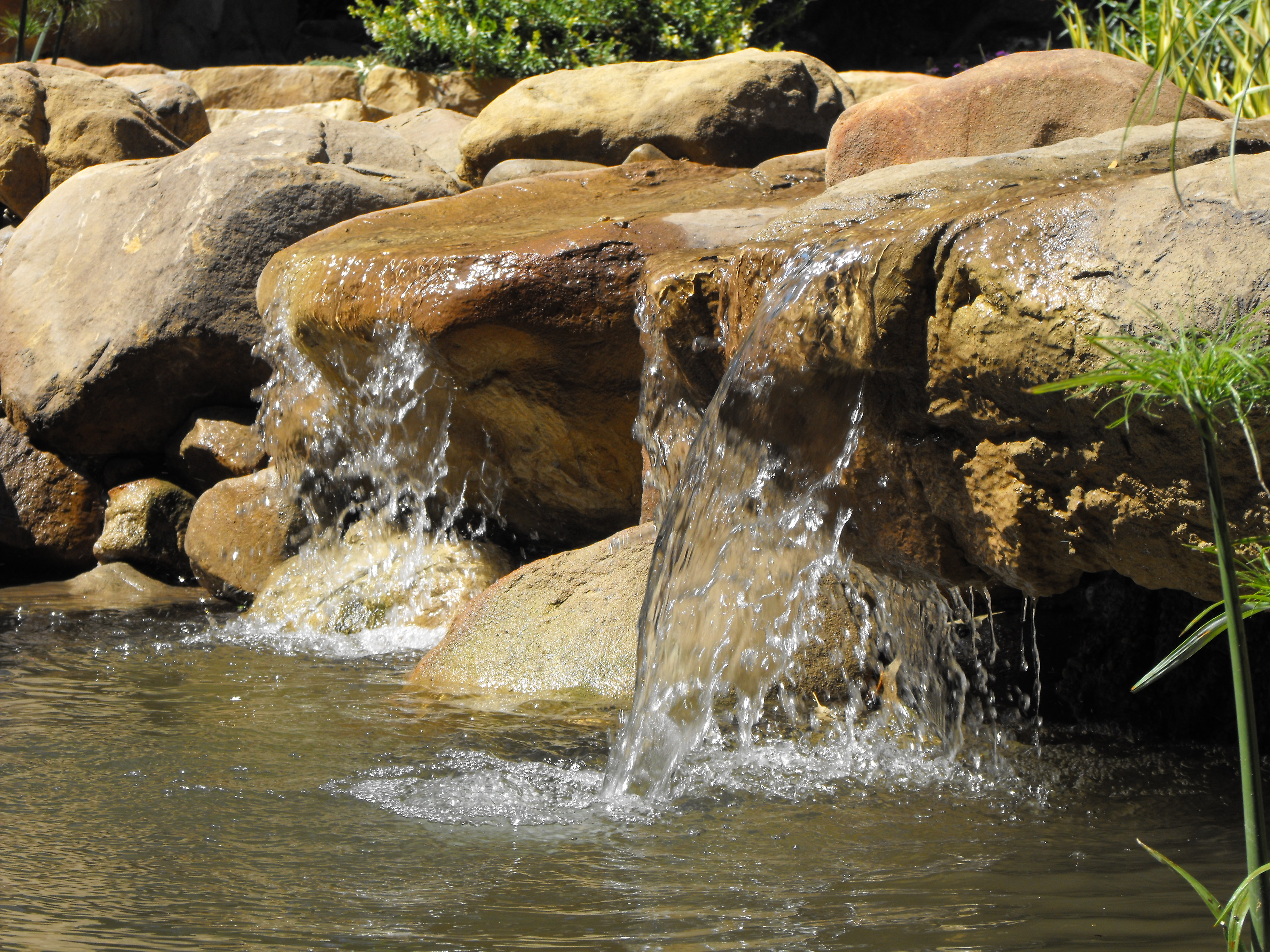 small garden ponds in Santa Barbara | Garcia Rock And Water Design Blog