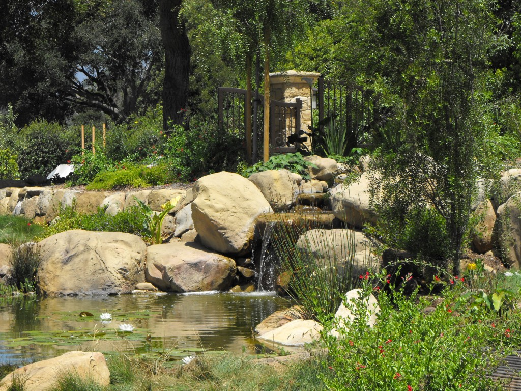 Garcia rock and water design blog for Tiny garden ponds