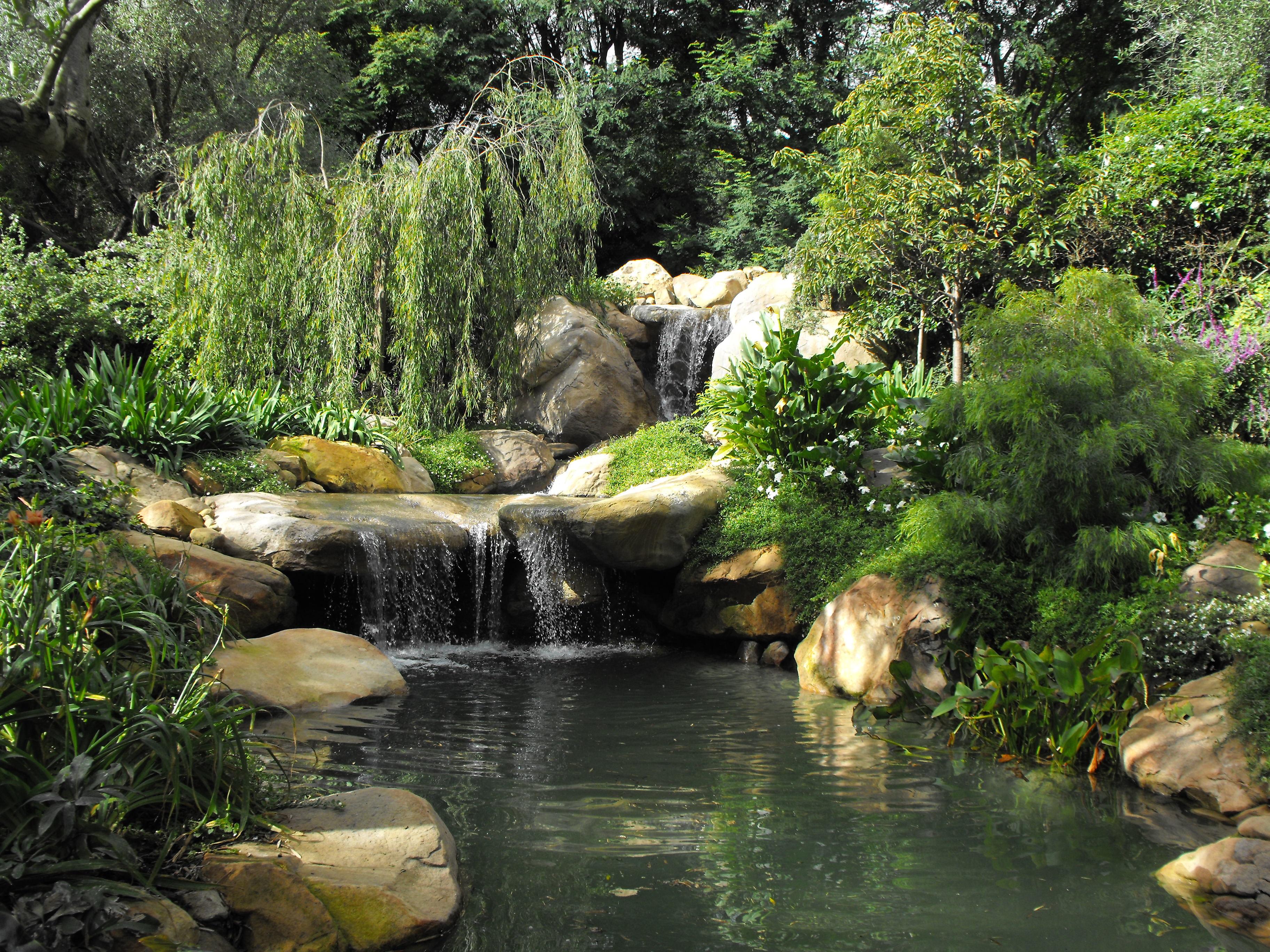 garden pond | Garcia Rock And Water Design Blog on Garden Waterfall Design id=97618