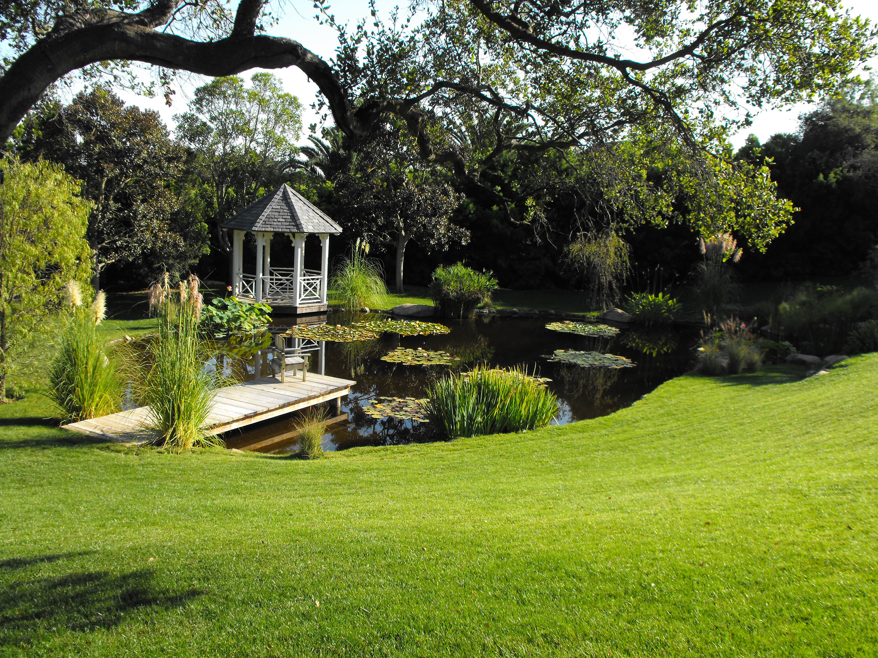 Garcia Rock And Water Design Blog on Small Pond Landscaping Ideas id=94138
